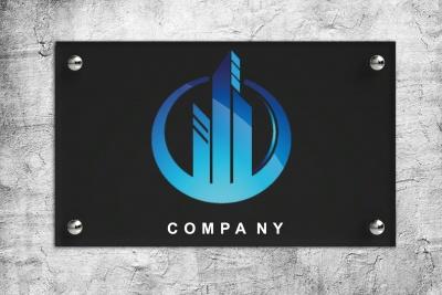 Firmenschild DIN A4