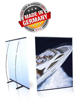 L-Banner Premium (60-300 cm Breite)