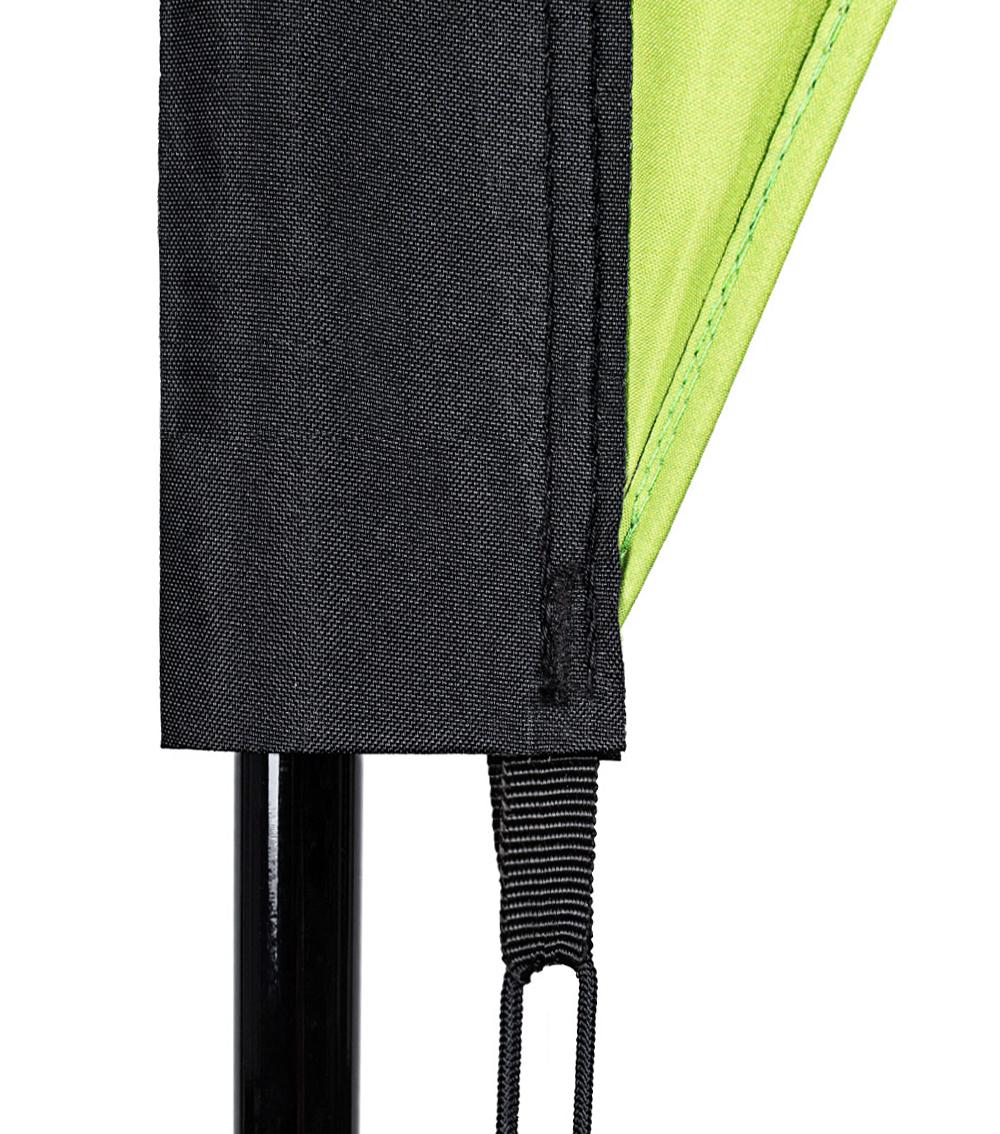 Beachflag/Dropflag S ca. 205 cm Hoch