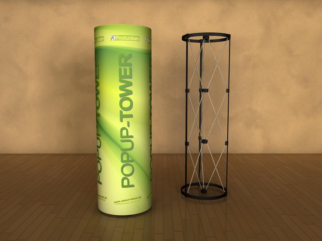 3D PopUp-Tower Nizza