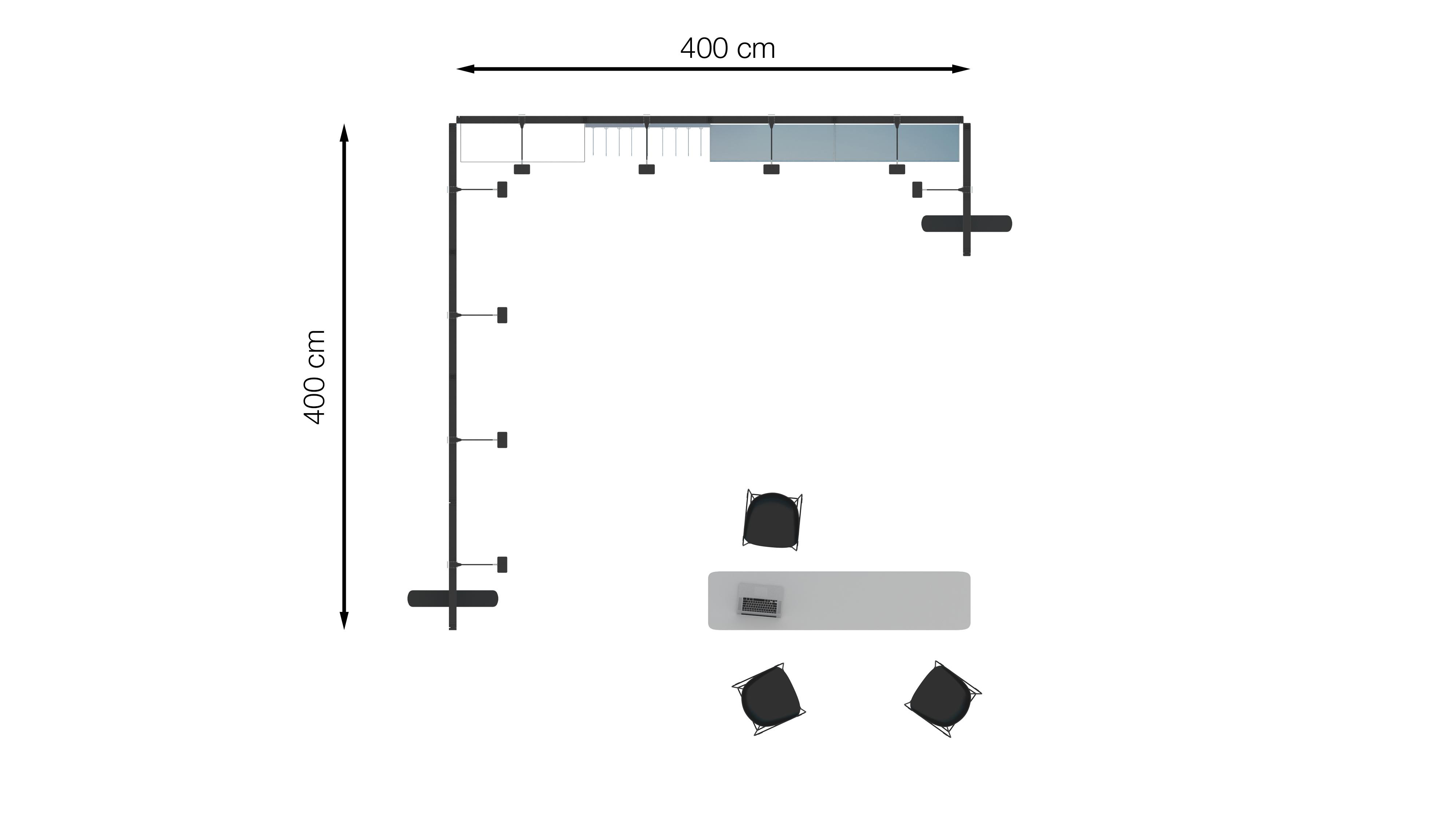 Messestand Multiframe Set