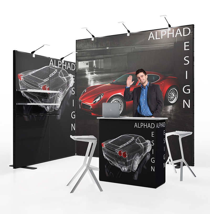 Messestand Multiframe Set 4
