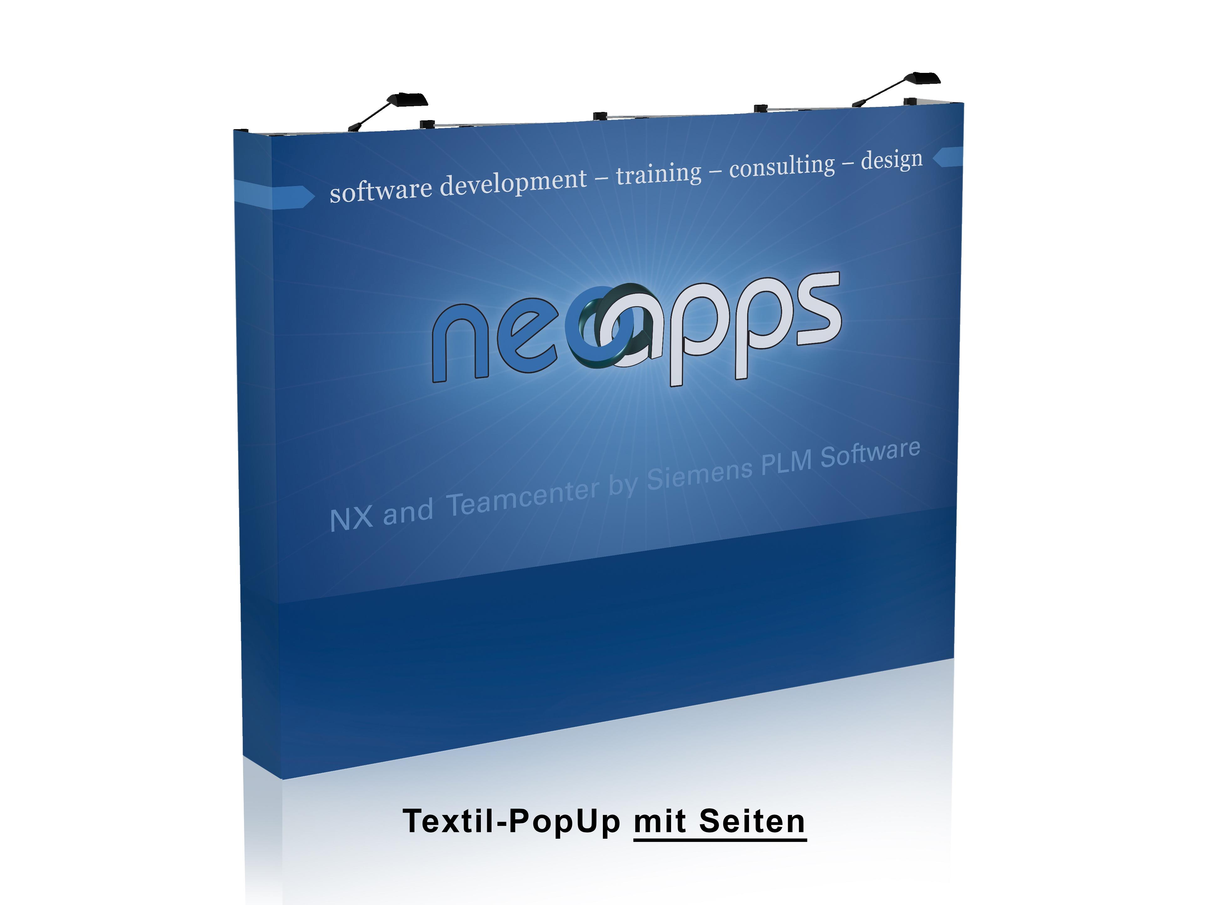 Textil PopUp 4x3 - Professional