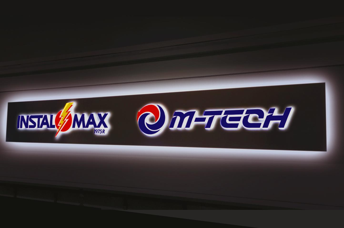 3D LED Leuchtkasten durchgestecktem Acrylglas