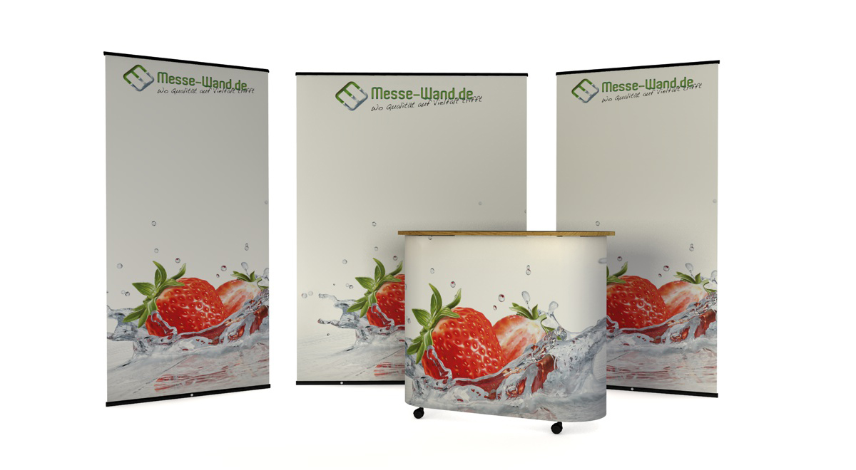 DELUXE MESSESTAND XL
