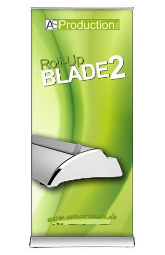 Roll Up Blade 2 inkl. Druck