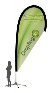 Dropflag XL ca. 355 cm Hoch