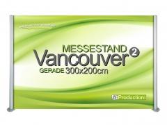Messestand Vancouver 2 Gerade 300 x 200 cm