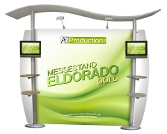 Messestand Eldorado Gold