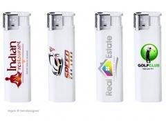 Elektronik Feuerzeuge mit beidseitigem Werbedruck