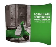 Textil Messewand Serpentine XL