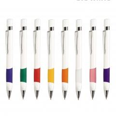 Kugelschreiber EVE WHITE, Werbekugelschreiber mit 1-Seitigem Werbedruck