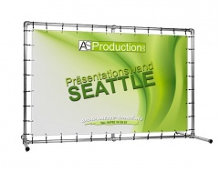 Präsentationswand Seattle