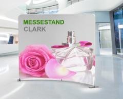 Messewand gebogen Clark