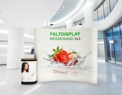 Faltdisplay 3x3 Gebogen