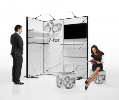 Messestand Multiframe Set 3