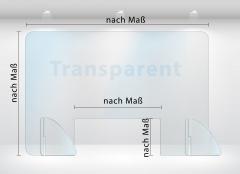 Mobile Schutzwand / Schutzscheibe nach Maß bis 200cm