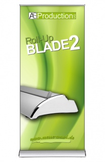 Roll Up Blade 2 inkl. Druck