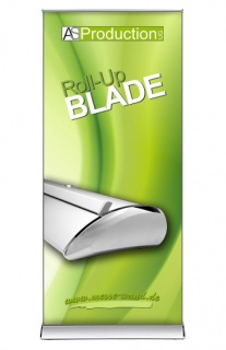 Roll Up Blade inkl. Druck